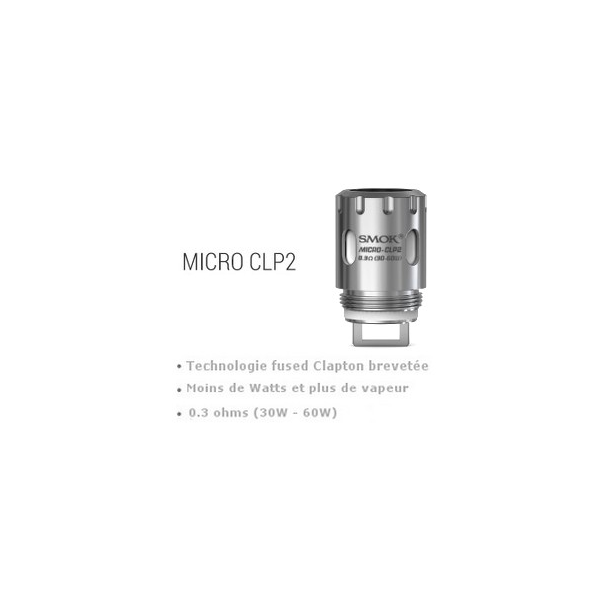 SMOK Résistances Micro CLP2 TFV4 0.3 Ohm