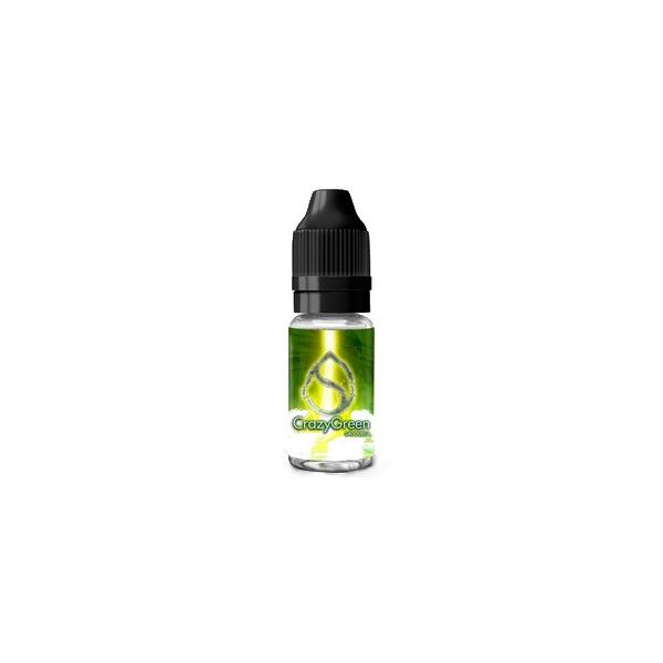 E-LIQUIDE CRAZY GREEN 10 ML - SAVOUREA