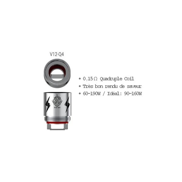 SMOK Résistances TFV12 - Q4