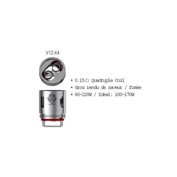 SMOK Résistances TFV12 - X4