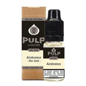 PULP ALABAMA AUX SELS DE NICOTINE 10 ML
