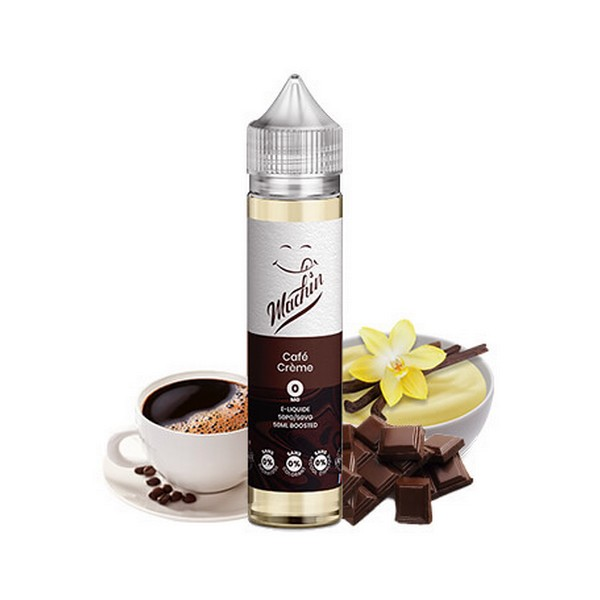 E-LIQUIDE CAFE CREME 50ml - MACHIN - SAVOUREA