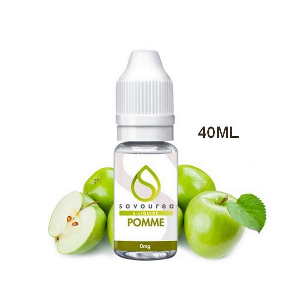 E-LIQUIDE POMME 40ml/0MG - SAVOUREA