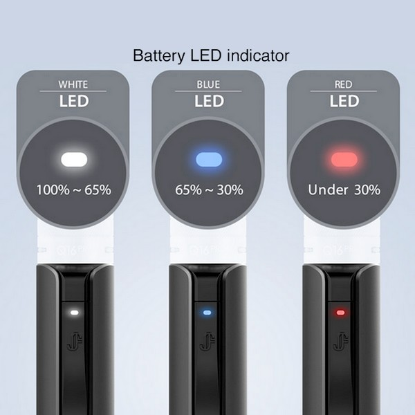 JUSTFOG - Batterie Q16 PRO 900mAh