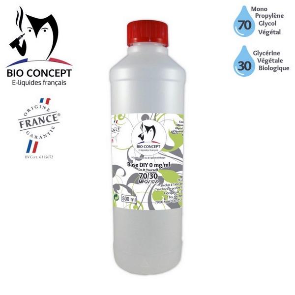BIOCONCEPT - BASE DIY 500 ml 70% MPGV / 30% GV