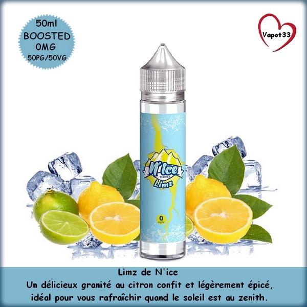 E-liquide Limz N'ice 50ml - Savouréa