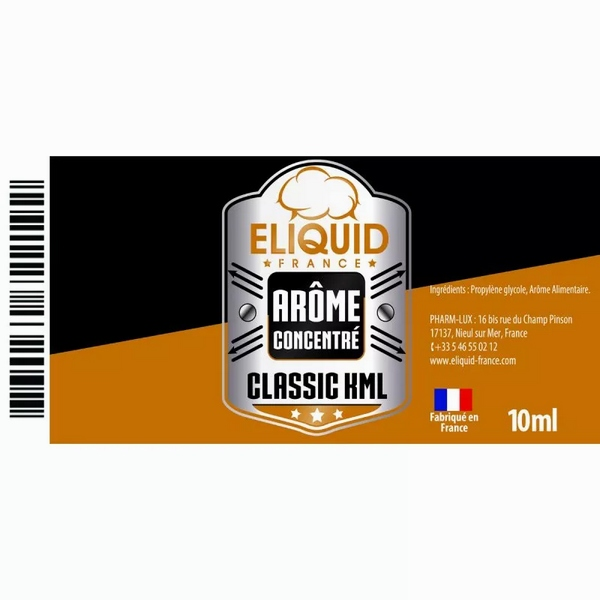 AROME CLASSIC KML 10ml - Eliquid France