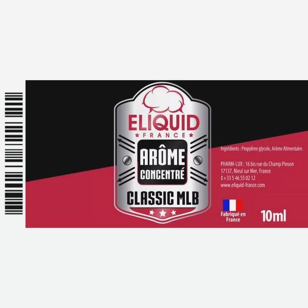 AROME CLASSIC MLB 10ml - Eliquid France