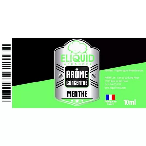 AROME MENTHE 10ml - Eliquid France