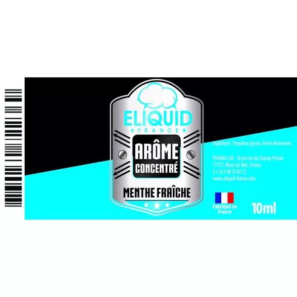 AROME MENTHE FRAICHE 10ml - Eliquid France
