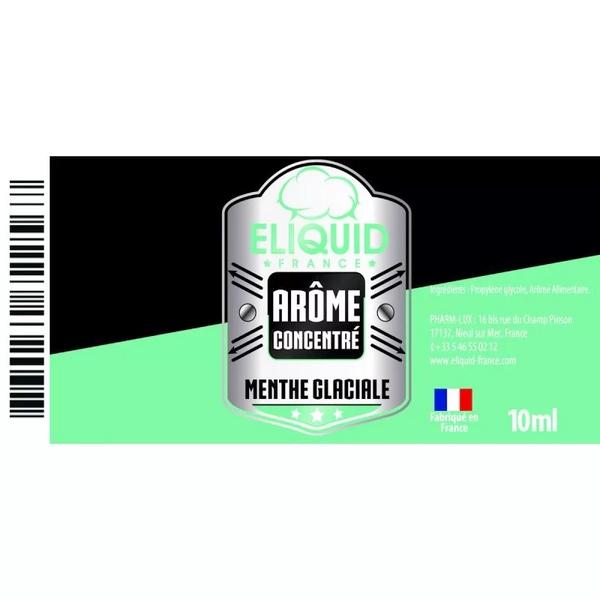 AROME MENTHE GLACIALE 10ml - Eliquid France