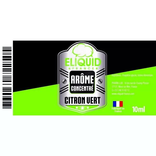 AROME CITRON VERT 10ml - ELIQUID FRANCE