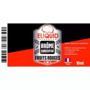 AROME FRUITS ROUGES 10ml - ELIQUID FRANCE