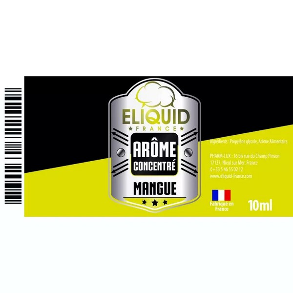 AROME MANGUE 10ml - ELIQUID FRANCE