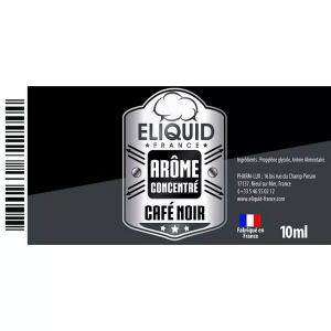AROME CAFE NOIR 10ml - ELIQUID FRANCE