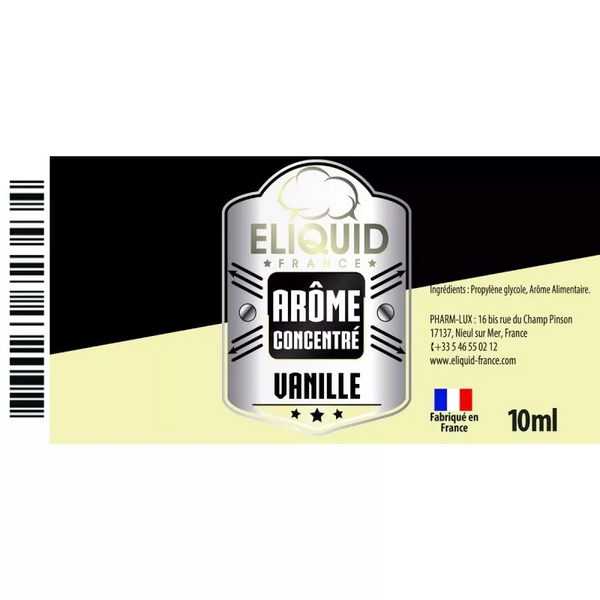 AROME VANILLE 10ml - ELIQUID FRANCE