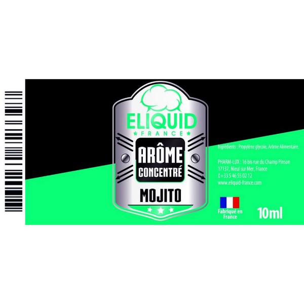 AROME MOJITO 10ml - Eliquid France