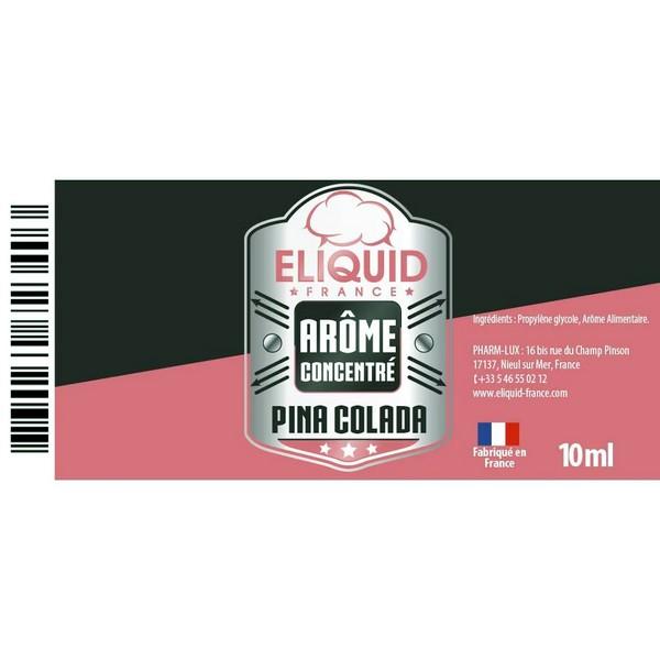AROME PINA COLADA 10ml - Eliquid France