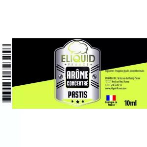 Arôme Pastis 10ml - Eliquid France